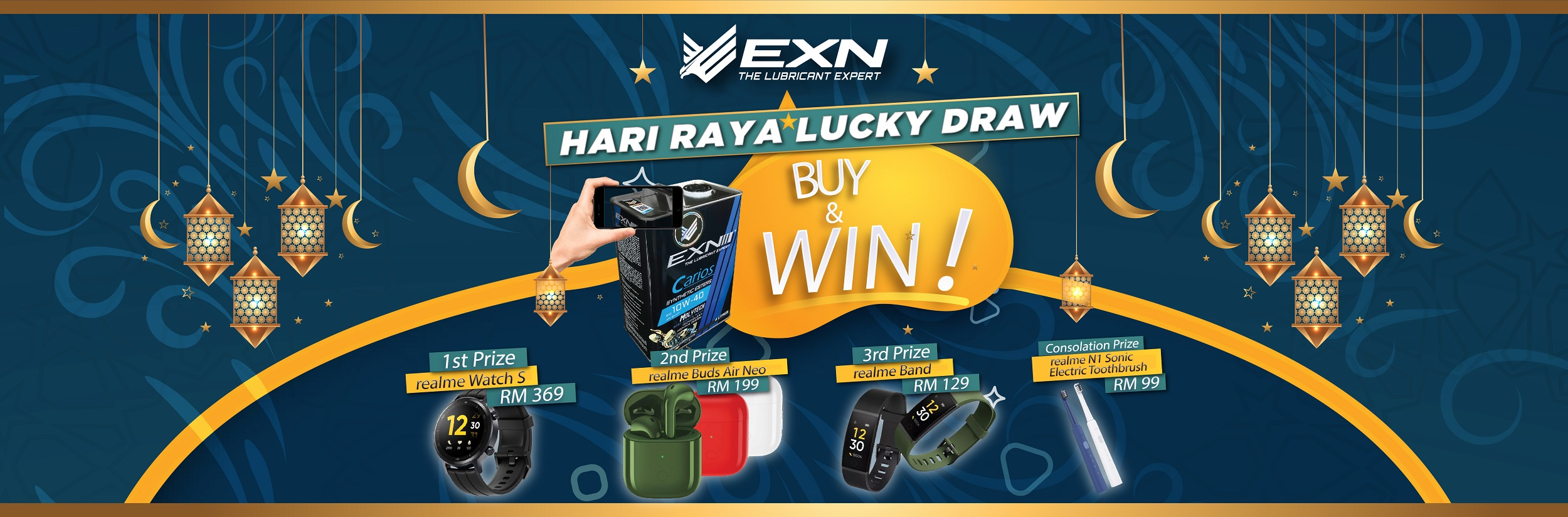 Lucky Draw Terms & Conditions